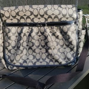 Coach Messenger Crossbody Baby Bag